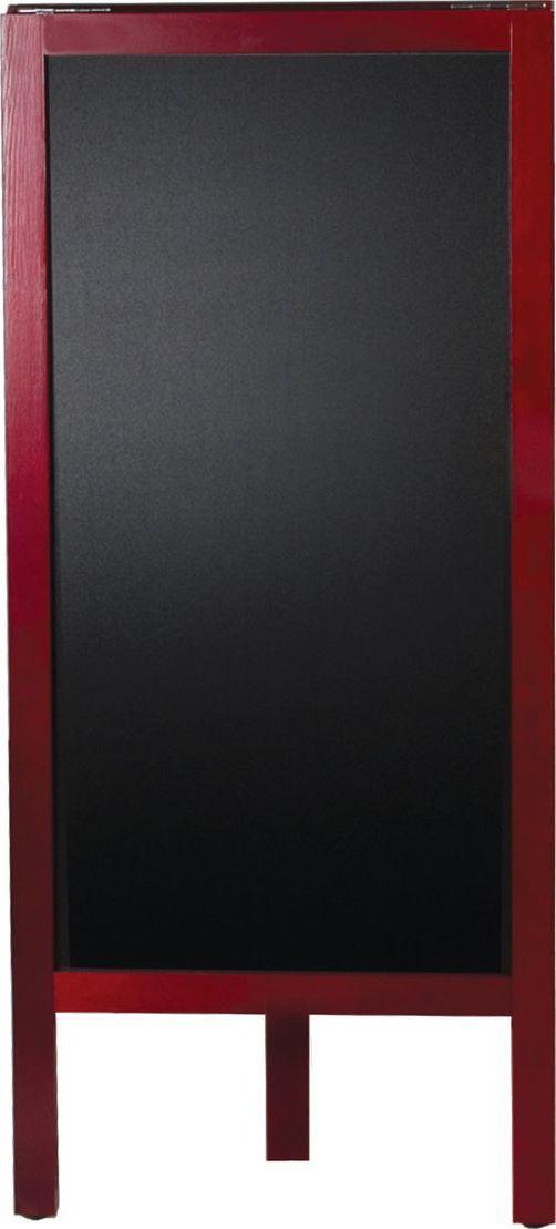 Brauberg Доска-штендер меловая 45 х 104 см236154Доска-штендер для размещения рекламы и информации с помощью мела. Используется в кафе и ресторанах.