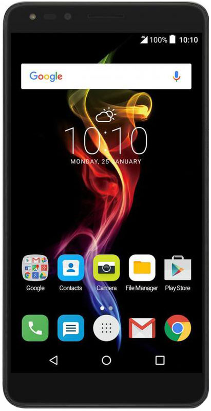 Alcatel 7070X POP 4, Slate Black - Смартфоны