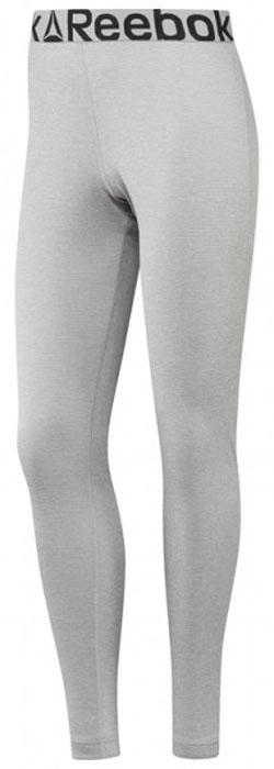Термобелье брюки женские Reebok Outdoor Thermal, цвет: серый. S96419. Размер L (50/52)S96419Женские термо-леггинсы от Reebok для холодных утренних пробежек. Отлично сохраняют тепло во время занятий спортом в холодное время года.