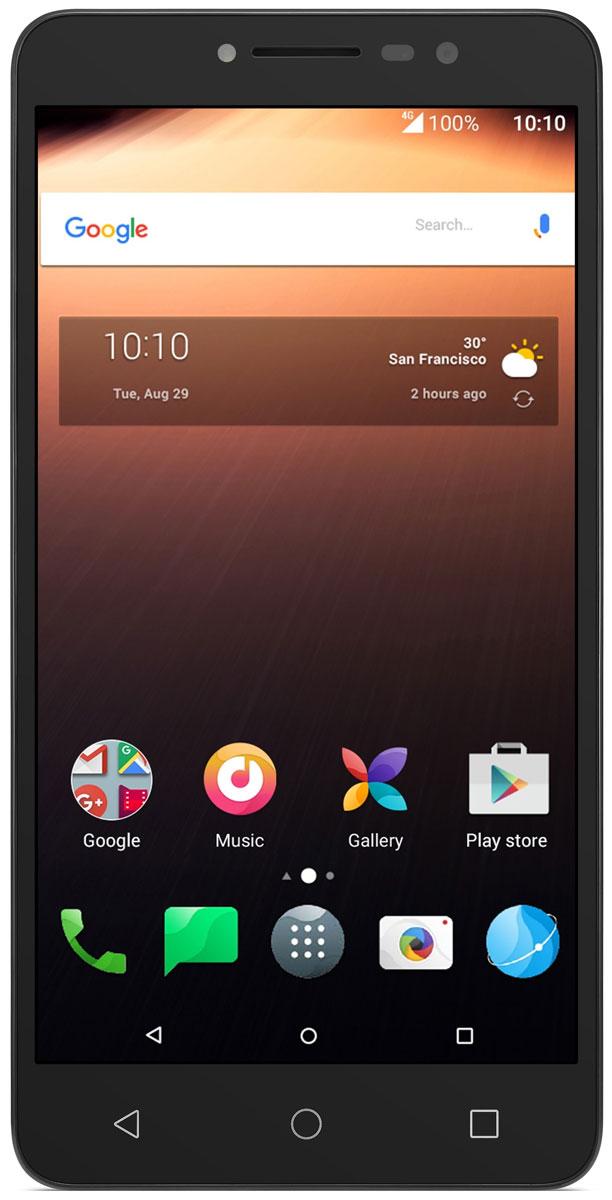 Alcatel 9008D A3 XL, Grey Silver4894461455525Alcatel A3 XL сочетает в себе отличный дизайн, большой 6-дюймовый экран, сканер отпечатков пальцев и высокую скорость загрузки данных с технологией 4G.Отличное изображение под любым углом и даже при ярком солнечном свете благодаря 6-дюймовому IPS экрану с полной ламинацией. На полностью ламинированном 6-дюймовом дисплее с матрицей IPS смартфона A3 XL видны все детали даже при солнечном свете.Мгновенная разблокировка одним нажатием. Просто коснитесь сканера отпечатков пальцев для доступа к приложениям. Также можно делать снимки и принимать входящие вызовы легким касанием сканера отпечатков пальцев.Фронтальная вспышка позволяет делать красивые и яркие селфи даже в темноте. А с фильтрами приложения Маска очень легко показать неожиданные стороны своей натуры. Оживите свои снимки с помощью приложения Селфи-шоу. И не забудьте поделиться ими с друзьми. Создавайте мгновенные фото-композиции, используя приложение Коллаж. И наконец, умная функция Альбом для селфи поможет вам упорядочить все снимки.Оцените по достоинству внешний вид A3 XL - задняя панель дополнена цветными декоративными рамками. А для удобства использования тонкий элегантный корпус имеет рельефную отделку.Оценить превосходную чистоту звучания даже на высоком уровне громкости стало возможно благодя динамикам с технологией Arkamys.Телефон сертифицирован EAC и имеет русифицированный интерфейс меню и Руководство пользователя.