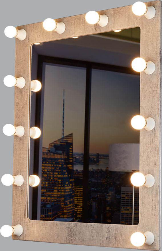 Светильник-зеркало Postermarket Грим, цвет: шпат (серый), 38 х 83,3 см. 230230 Грим 12 ШпатГримерное зеркало - идеальное дополнение к дизайну вашего дома. Стильное и практичное, выполненное из высококачественных материалов, гримерное зеркало превосходно впишется абсолютно в любой интерьер. Это зеркало будет идеальным помощником для каждой женщины, в процессе создания собственного неповторимого образа.УВАЖАЕМЫЕ КЛИЕНТЫ!Обращаем ваше внимание на тот факт, что лампочки в комплект не входят.