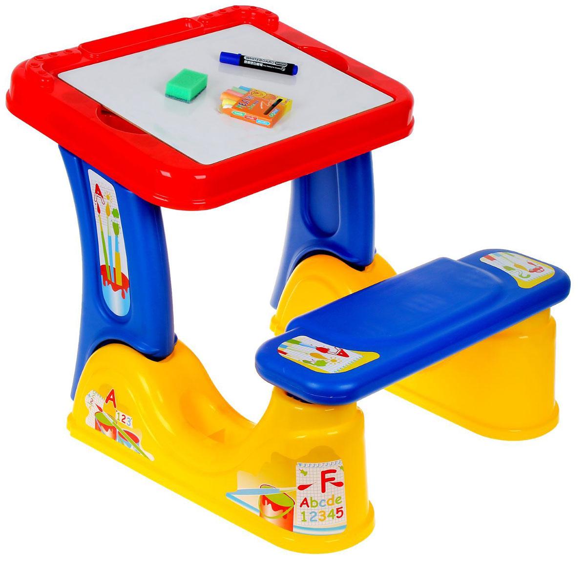 Полесье Набор дошкольника с принадлежностями цвет красный синий желтый -  Детская комната