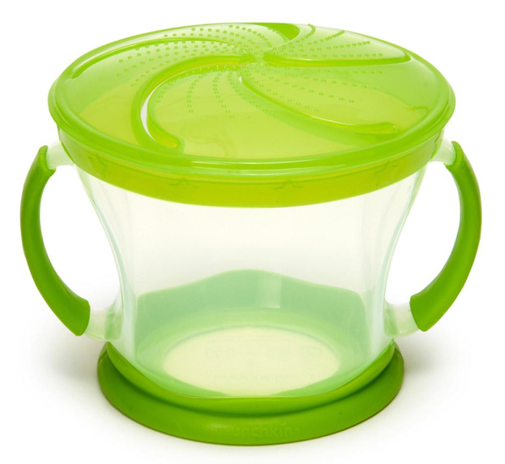 Munchkin Контейнер Поймай печенье цвет салатовый -  Все для детского кормления