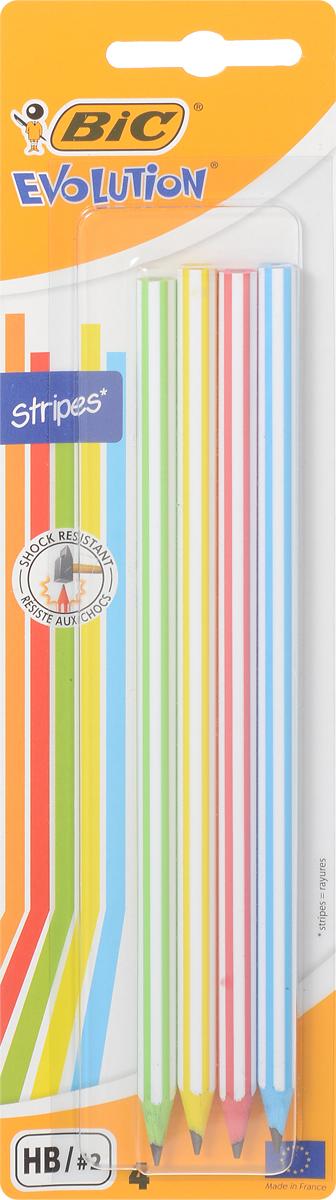 Bic Набор чернографитных карандашей Evolution 4 шт B918485B918485Набор Bic Evolution включает четыре шестигранных чернографитных карандаша с корпусами разных цветов. Карандаши полностью выполнены из пластика, обладают высокой степенью устойчивости к излому, ударопрочным грифелем и ярким дизайном.Уважаемые клиенты! Обращаем ваше внимание на то, что упаковка может иметь несколько видов дизайна. Поставка осуществляется в зависимости от наличия на складе.