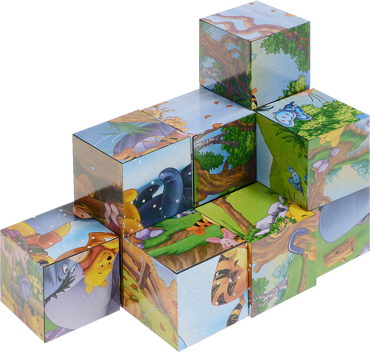 Step Puzzle Кубики Винни и его друзья step puzzle пазл для малышей виннииегодрузья 89124