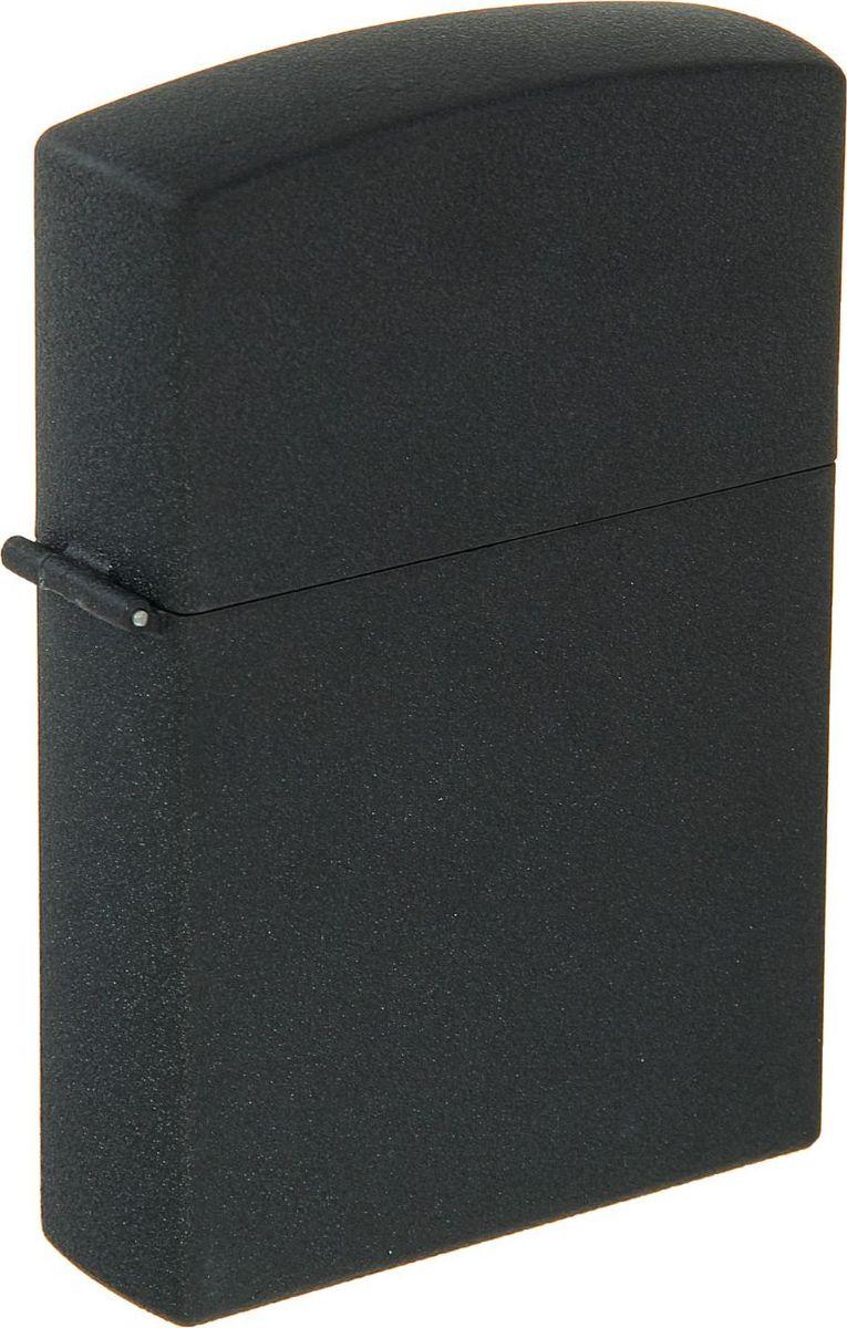 """Зажигалка """"Черная матовая"""" выполнена из металла и пластика. Она станет прекрасным подарком, который подчеркнет яркую индивидуальность того, кому он предназначается."""