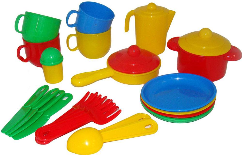 Полесье Набор игрушечной посуды Хозяюшка 35950 полесье набор для песочницы 469