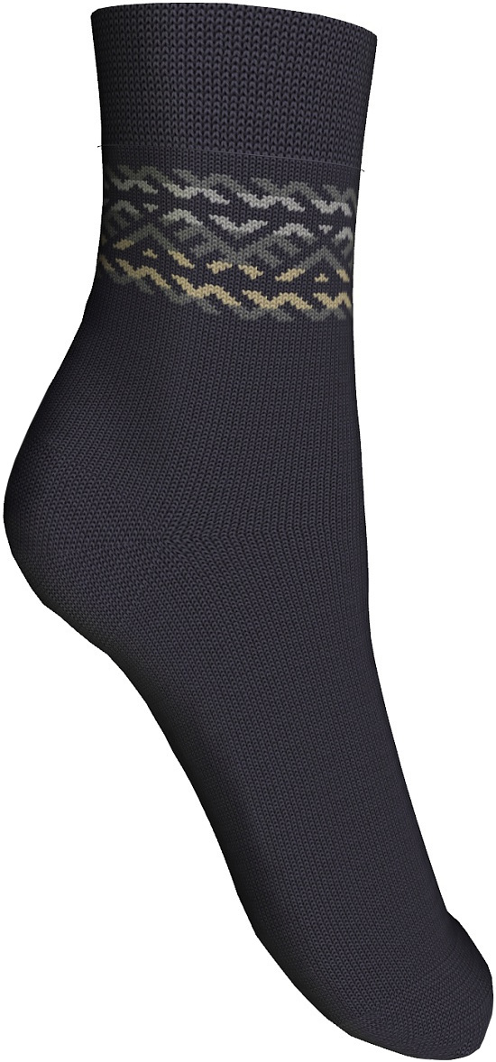 Носки детские Master Socks, цвет: черный. 52504. Размер 1452504Удобные носки Master Socks, изготовленные из высококачественного комбинированного материала с высоким содержанием полушерсти, очень мягкие и приятные на ощупь, позволяют коже дышать и отлично греют.Эластичная резинка плотно облегает ногу, не сдавливая ее, обеспечивая комфорт и удобство. Носки с паголенком классической длины. Практичные и комфортные носки великолепно подойдут к любой вашей обуви.