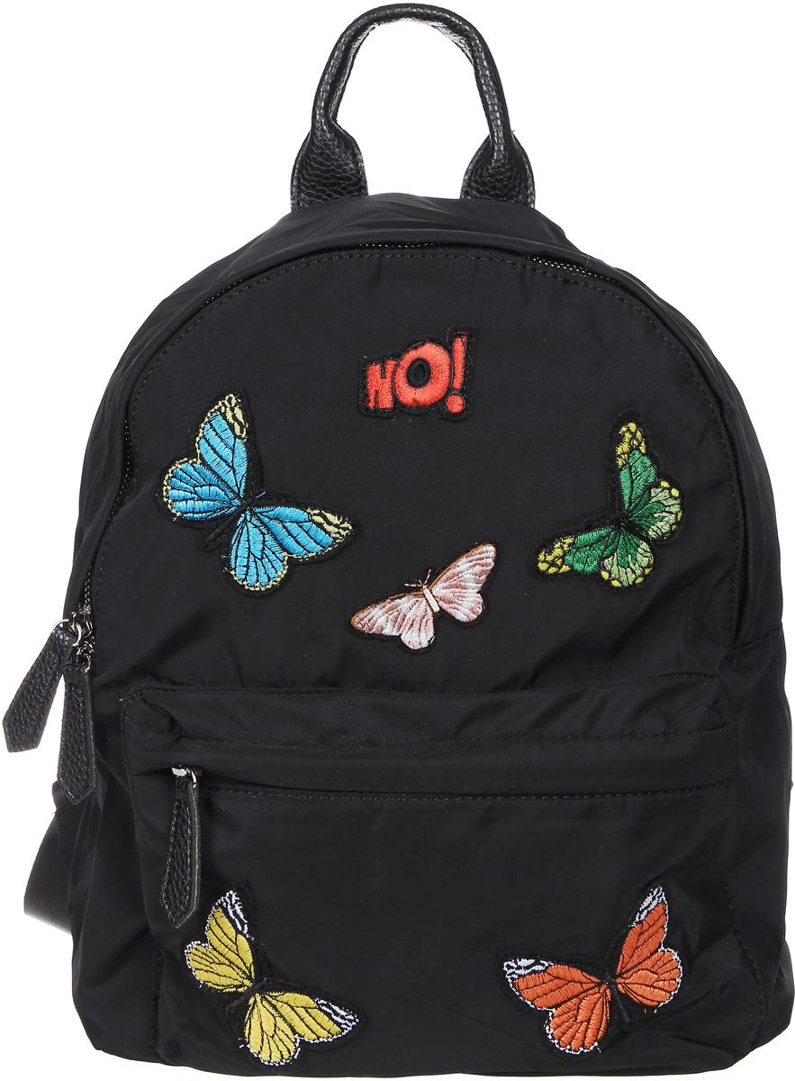 Рюкзак для девочки Vitacci, цвет: черный. 530020