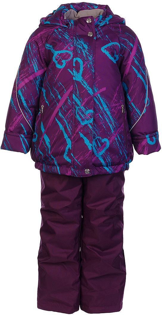 Комплект для девочки Jicco By Oldos Галата: куртка и полукомбинезон, цвет: фиолетовый, голубой. 1J7SU03. Размер 110, 5 лет1J7SU03Комплект для девочки Jicco By Oldos, состоящий из куртки и полукомбинезона, выполнен из полиэстера с водо-грязеотталкивающей пропиткой. Подкладка-флис, в рукавах и брючинах - гладкий полиэстер. Куртка дополнена капюшоном, воротником - стойкой, двумя карманами на молниях, а также светоотражающими элементами. Изделие застегивается на молнию и имеет двойную ветрозащитную планку. Рукава с отворотом и внутренней трикотажной саморегулирующейся манжетой. Эластичная талия полукомбинезона и регулируемые подтяжки гарантируют посадку по фигуре, длинная молния впереди облегчает процесс одевания.