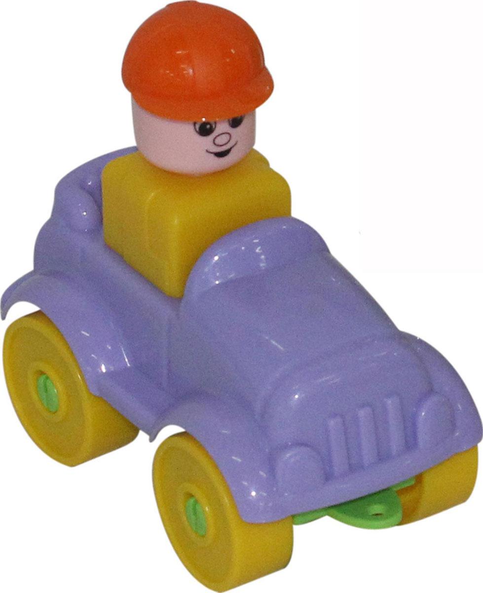 Полесье Конструктор Юный путешественник Автомобиль-ретро полесье конструктор автомобиль легковой с прицепом