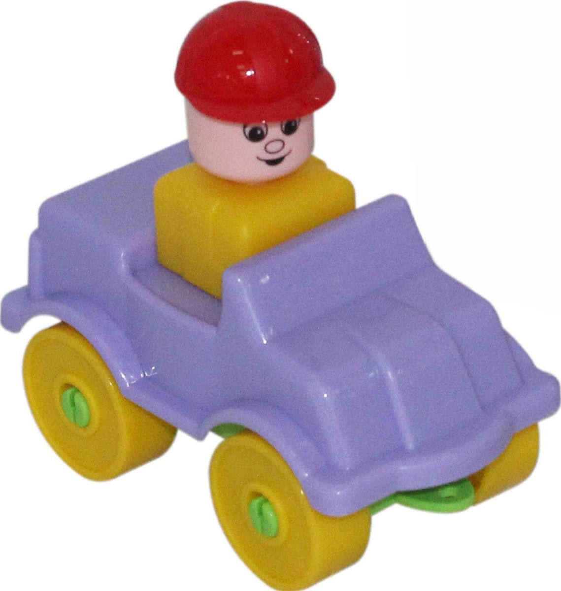 Полесье Конструктор Юный путешественник Автомобиль легковой полесье конструктор автомобиль легковой с прицепом