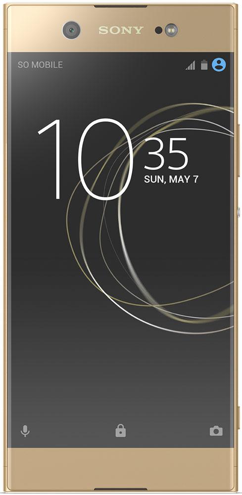 Sony Xperia XA1 Ultra, Gold1308-0891Впечатляющий 6-дюймовый Full HD дисплей и две мощные камеры нового Xperia XA1 Ultra созданы, чтобы превосходить любые ожидания и делать самые значимые моменты еще эффектнее.Смартфон отличается высокоточным исполнением деталей и престижным дизайном с алюминиевой рамкой вокруг корпуса и стеклом 2,5D. Поверхности и грани этого смартфона плавно перетекают друг в друга, благодаря чему держать его в руках - одно удовольствие.Размер больше не помеха удобству. В Xperia XA1 Ultra есть функция мини-дисплея, позволяющая легко управлять смартфоном одной рукой.И основная, и фронтальная камеры этого смартфона обладают сверхвысоким разрешением, так что теперь тусклый свет не помешает вам снимать четкие фото с качественной цветопередачей.Делайте потрясающие селфи на 16-мегапиксельную фронтальную камеру, которая снимает в высоком разрешении с великолепной цветопередачей.Устали от тусклых смазанных селфи? С оптической стабилизацией изображения и нашей качественной вспышкой вы забудете о них навсегда.Снимайте четкие селфи даже в полутьме клуба или под светом звезд благодаря матрице Exmor RS for mobile. Покажите в камеру ладонь, и сработает съемка по таймеру. Так вы успеете не напрягаясь принять лучшую позу.Снимайте безупречные фото с яркими реалистичными цветами. Xperia XA1 Ultra оснащен профессиональной основной камерой на 23 Мпикс с гибридным автофокусом, матрицей Exmor RS for mobile для съемки при тусклом свете и функцией быстрого запуска.Xperia XA1 Ultra оснащен мегамощным восьмиядерным процессором с ОЗУ 4 ГБ. Что бы вы на нём ни делали, вы будете делать это легко и с удовольствием.Smart Cleaner автоматически отключает неиспользуемые приложения и очищает кэш, чтобы освободить память.Технология адаптивной зарядки Qnovo регулирует уровень тока во время зарядки, защищая аккумулятор от износа и продлевая срок его службы. Несколько минут зарядки - и ваш смартфон готов работать часами благодаря технологии Quick Charging.Телефон сертифицирован EAC и им