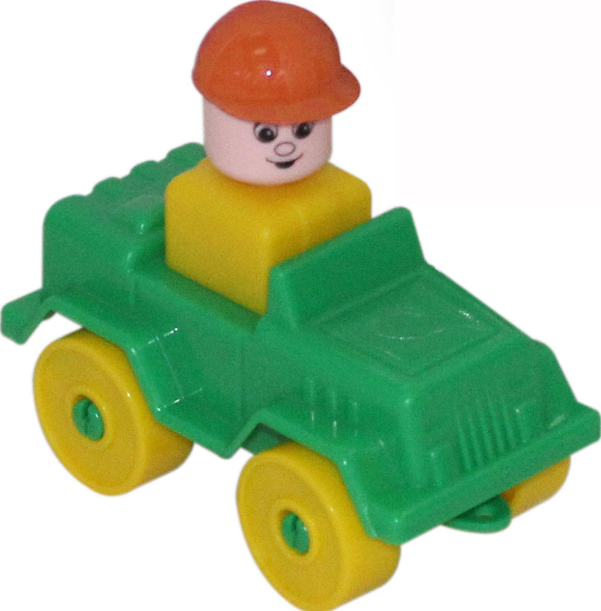 Полесье Конструктор Юный путешественник Автомобиль-джип полесье конструктор автомобиль легковой с прицепом