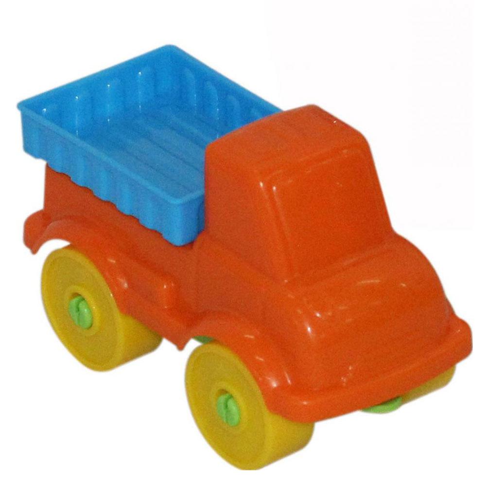 Полесье Конструктор Юный путешественник Автомобиль грузовой полесье конструктор автомобиль легковой с прицепом