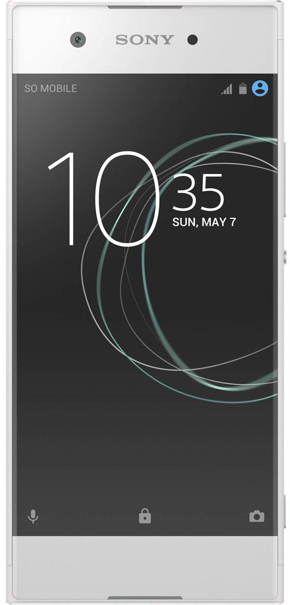 Sony Xperia XA1, White1308-0934Благодаря камере от Sony ваши снимки всегда будут на высоте. Xperia XA1 оснащен 23-мегапиксельной матрицей Exmor RS для мобильных устройств и объективом f/2,0. Больше пикселей и света - ярче и качественнее фотографии.Xperia XA1 оснащен 8-мегапиксельной фронтальной камерой с широкоугольным объективом 23 мм, который позволяет снимать групповые селфи всей дружной компанией. А еще в смартфоне есть удобная функция съемки по жесту: если показать в камеру открытую ладонь, затвор сработает автоматически.5-дюймовый дисплей этого смартфона с очень тонкой рамкой занимает почти всю переднюю панель, а благодаря плавным, закругленным очертаниям Xperia XA1 удобно лежит в ладони.Энергоэффективный процессор обеспечивает быстрый отклик интерфейса без задержек, когда вы играете, пользуетесь браузером или смотрите видео. Поддержка 4G гарантирует высокую скорость Интернета.Smart Cleaner автоматически отключает неиспользуемые приложения и очищает кэш, чтобы освободить память.Технология Qnovo Adaptive Charging контролирует такие параметры, как температура и давление в аккумуляторе, и регулирует уровень тока во время зарядки, продлевая срок службы смартфона Xperia.Когда понадобится сэкономить заряд, включите режим Stamina, и он заметно продлит время работы аккумулятора.Xperia XA1 изучает, как вы его используете, и дает персональные подсказки, которые помогают раскрыть весь потенциал устройства.Телефон сертифицирован EAC и имеет русифицированный интерфейс меню и Руководство пользователя.
