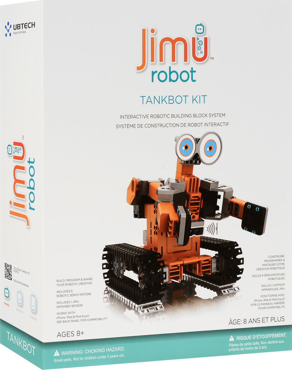 UBTech Робот-конструктор Jimu TankBot