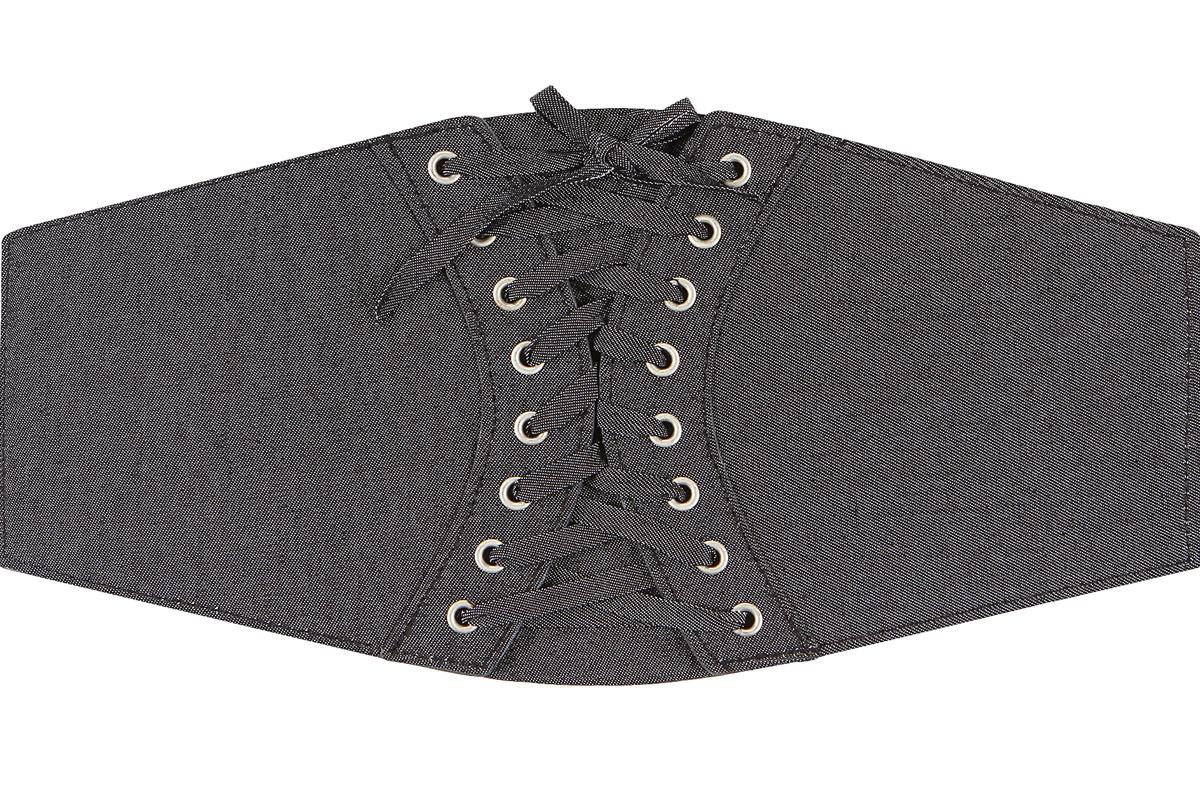 Пояс женский Модные истории, цвет: черный. 91/0273/030. Размер 75 х 1,7 см