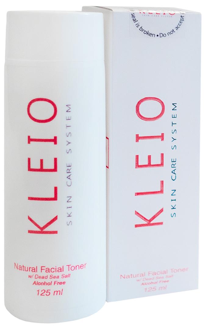 Kleio Натуральный тоник для лица (без спирта) Skin Care System Natural Facial Toner (Alcohol Free), 125 млK02100125Уникальный тоник применяется для всех типов кожи лица, в том числе и проблемной; очищает кожу, превосходно смягчает, увлажняет, питает и восстанавливает; при длительном применении наблюдается заметный оздоровительный результат; очень хорошо впитывается, не оставляя при этом липкой пленки на поверхности кожи; Тоник содержит натуральные природные соли и минералы Мертвого моря.
