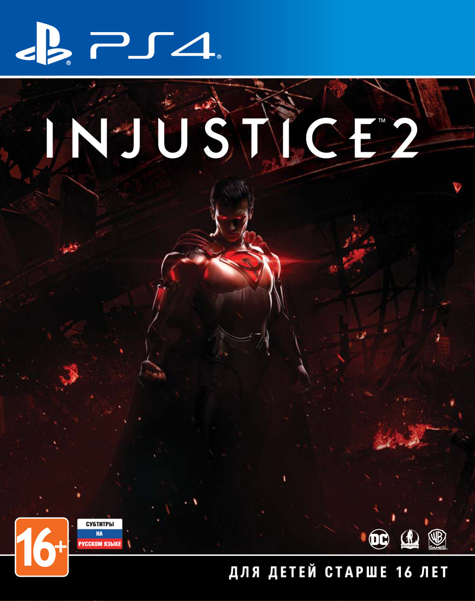 Фото - Injustice 2 (PS4) injustice gods among us year four vol 2