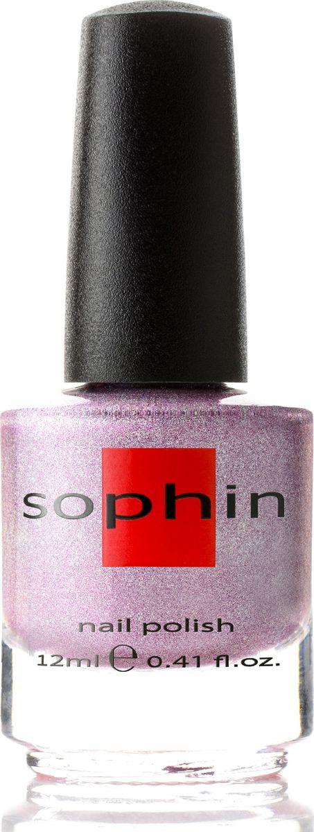 Sophin Лак для ногтей Prisma тон 0204, 12 мл0204Яркий лилово-розовый линейный голографик. Идеален при нанесениии в два слоя. Глянцевый финиш. BIG5FREE.