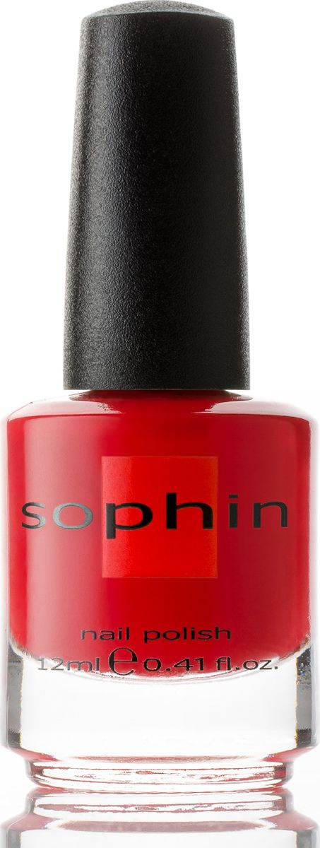 Sophin Лак для ногтей Sand Effect тон 0281, 12 мл0281Красный лак. Идеален при нанесениии в два слоя. Деликатный песочный финиш. Не требуется базовое и топовое покрытие. BIG5FREE.