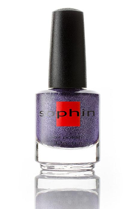 Sophin Лак для ногтей Sand Effect тон 0298, 12 мл0298Фиолетовый лак с разноцветным, преимущественно серебристым шиммером. Идеален при нанесениии в 2 слоя, но можно уложить и в 1 плотный слой. Деликатный песочный финиш. Не требуется использование базового покрытия. BIG5FREE