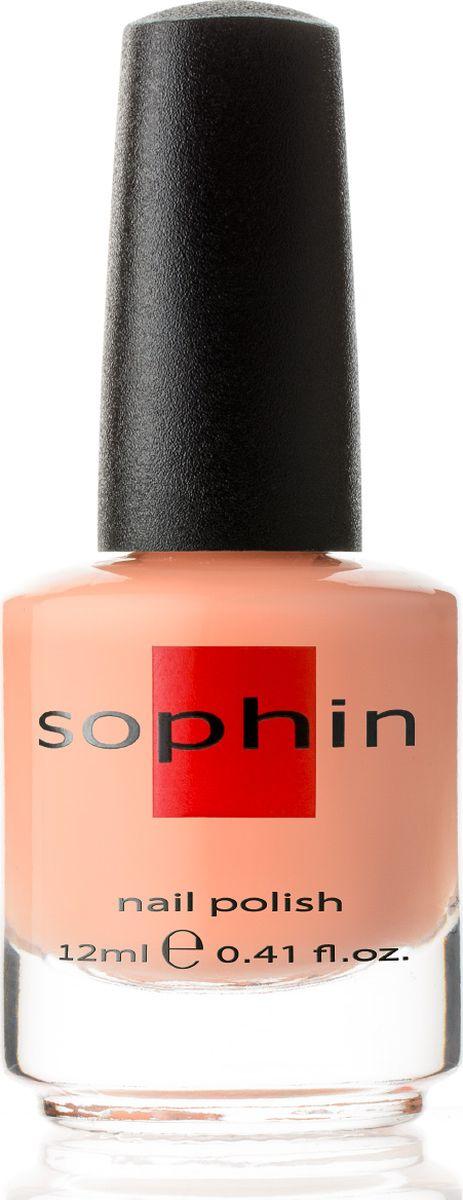 Sophin Лак для ногтей Macaroons тон 0344, 12 мл0344Персиково-бежевый пастельный лак желейной текстуры. Идеален при нанесениии в три тонких слоя. Глянцевый финиш. BIG5FREE.