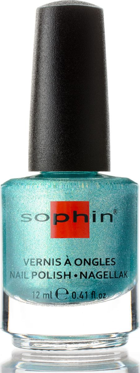Sophin Лак для ногтей Blue Lagoon Tropical Splash тон 0364, 12 мл0364Зелено-синий лак желейной текстуры с содержанием крупного золотистого и серебристого шиммера, а так же мелкой разноцветной пыльцы. Идеален при нанесениии в три слоя. Глянцевый финиш. BIG5FREE.