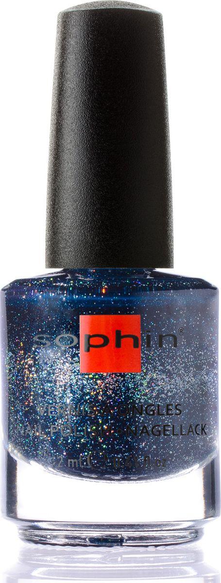 Sophin Лак для ногтей Luxury And Style Avant-Garde тон 0370, 12 мл0370Темно-синий желейный лак с тиловым подтоном и большим количеством голографических частиц. Идеален при нанесении в два слоя. Глянцевый финиш. BIG5FREE.