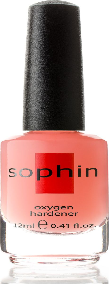 Sophin Кислородный укрепитель ногтей, 12 мл0526Универсальное средство в борьбе с короткими и слабыми ногтями. Образует покрытие, которое не препятствует проникновению воздуха в ногтевую пластину, что является наиболее естественным для физиологии ногтей. BIG5FREE.