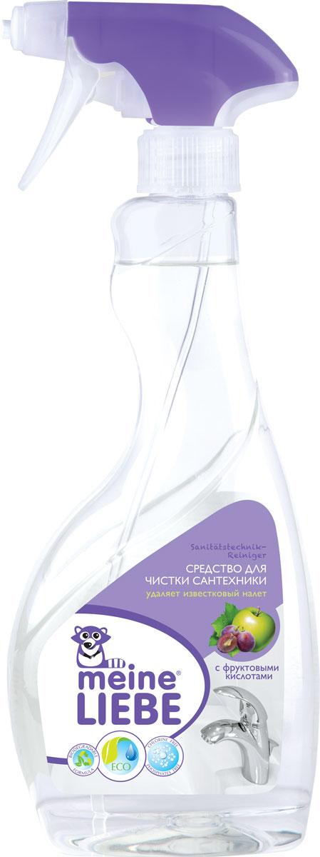Средство для чистки сантехники Meine Liebe, 500 млML34101Средство Meine Liebe предназначено для чистки сантехники (ванн, раковин, душевых кабин). Средство Meine Liebe:снимает известковые отложения, грязь, следы от мыльного налета в ванной и других помещениях;устраняет неприятные запахи;уничтожает опасные микробы и бактерии;образует защитную пленку, препятствующую образованию загрязнений;применимо для чистки хрома;подходит для мытья любых поверхностей кроме натурального камня и мрамора;обладает приятным ароматом мелиссы. Характеристики:Объем: 500 мл. Артикул: FR0504. Товар сертифицирован.Уважаемые клиенты! Обращаем ваше внимание на то, что упаковка может иметь несколько видов дизайна. Поставка осуществляется в зависимости от наличия на складе.