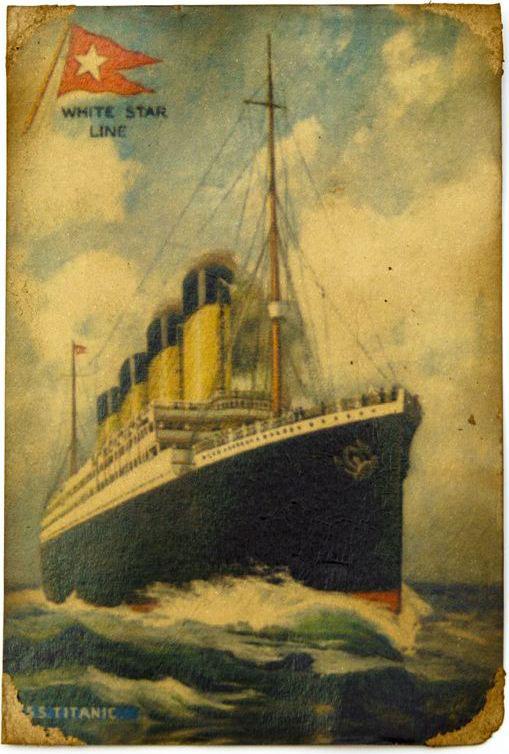 Открытка Титаник». Авторская работа. РА4РА4