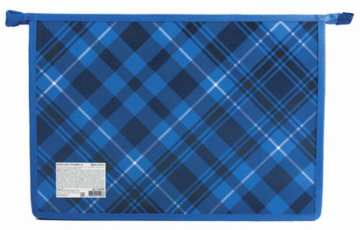 Brauberg Папка для тетрадей Оксфорд цвет синий brauberg папка для тетрадей футбол