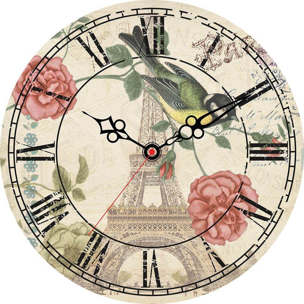 Часы настенные Postermarket, цвет: белый, диаметр 30 см. CL-02CL-02Стильные настенные часы на стекле в индивидуальной упаковке.