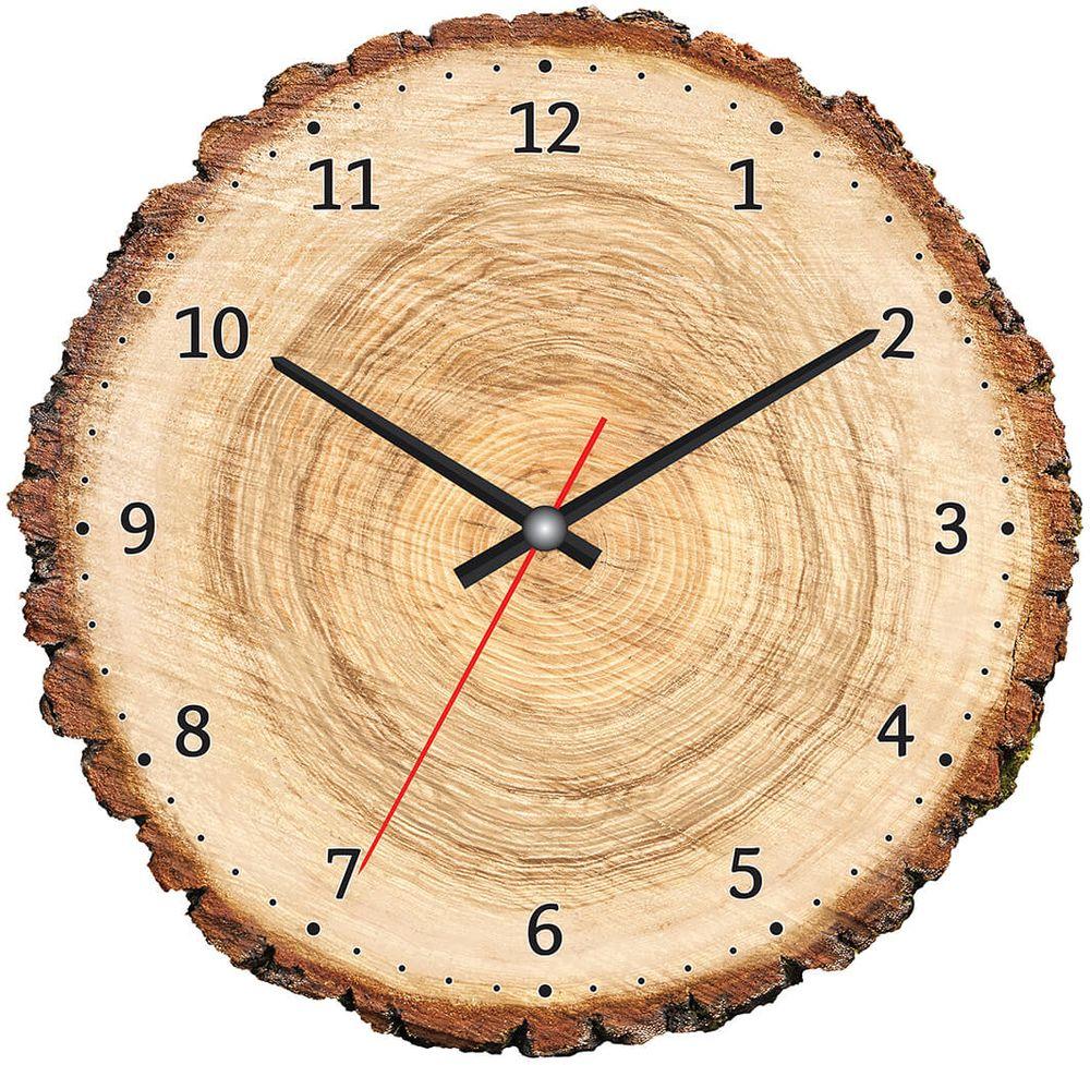 Часы настенные Postermarket, цвет: бежевый, диаметр 30 см. CL-06CL-06Стильные настенные часы на стекле в индивидуальной упаковке.