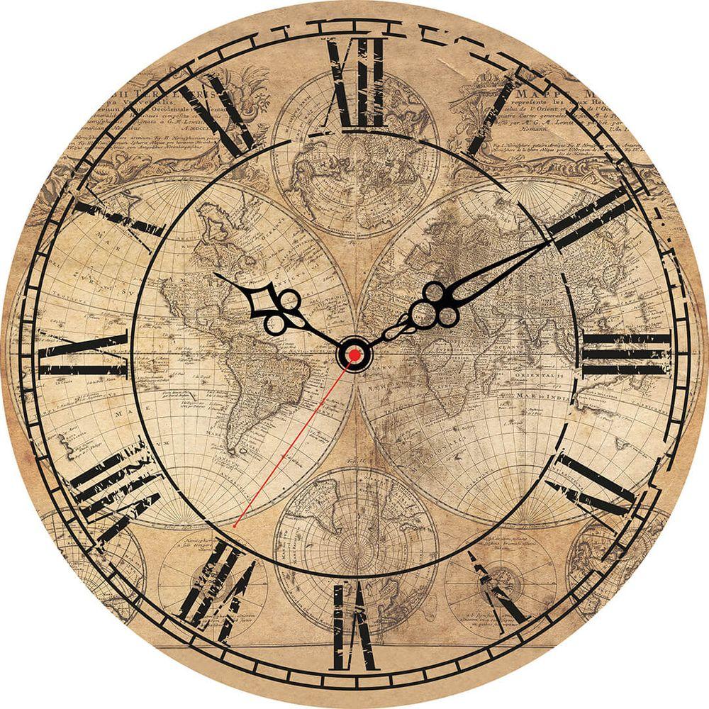 Часы настенные Postermarket, цвет: бежевый, диаметр 30 см. CL-08CL-08Стильные настенные часы Postermarket станут изюминкой в дизайне интерьера вашего дома. Корпус часов выполнен из стекла с декоративным покрытием. Часы имеют три стрелки - часовую, минутную и секундную. Часовой механизм сзади закрыт пластиковым корпусом.Кварцевые часы работают от сменной батареи. Диаметр: 30 см.