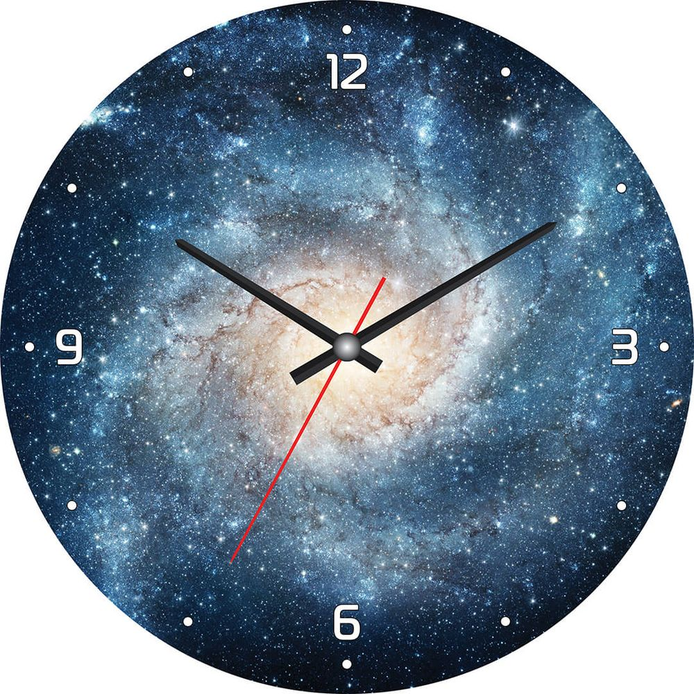 Часы настенные Postermarket, цвет: синий, диаметр 30 см. CL-09CL-09Стильные настенные часы на стекле в индивидуальной упаковке.