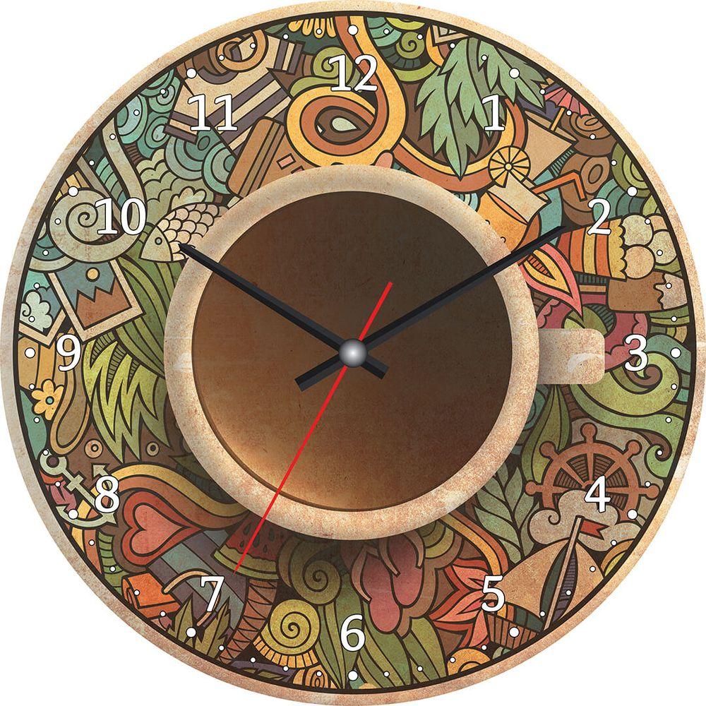 Часы настенные Postermarket, цвет: зеленый, диаметр 30 см. CL-12CL-12Стильные настенные часы Postermarket станут изюминкой в дизайне интерьера вашего дома. Корпус часов выполнен из стекла с декоративным покрытием. Часы имеют три стрелки - часовую, минутную и секундную. Часовой механизм сзади закрыт пластиковым корпусом. Кварцевые часы работают от сменной батареи.Диаметр: 30 см.