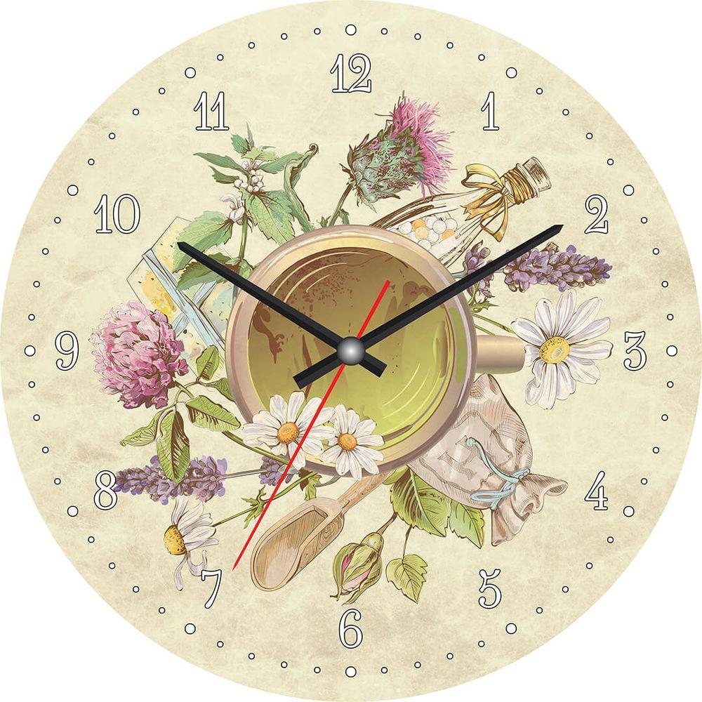 Часы настенные Postermarket, цвет: бежевый, диаметр 30 см. CL-14CL-14Стильные настенные часы на стекле в индивидуальной упаковке.