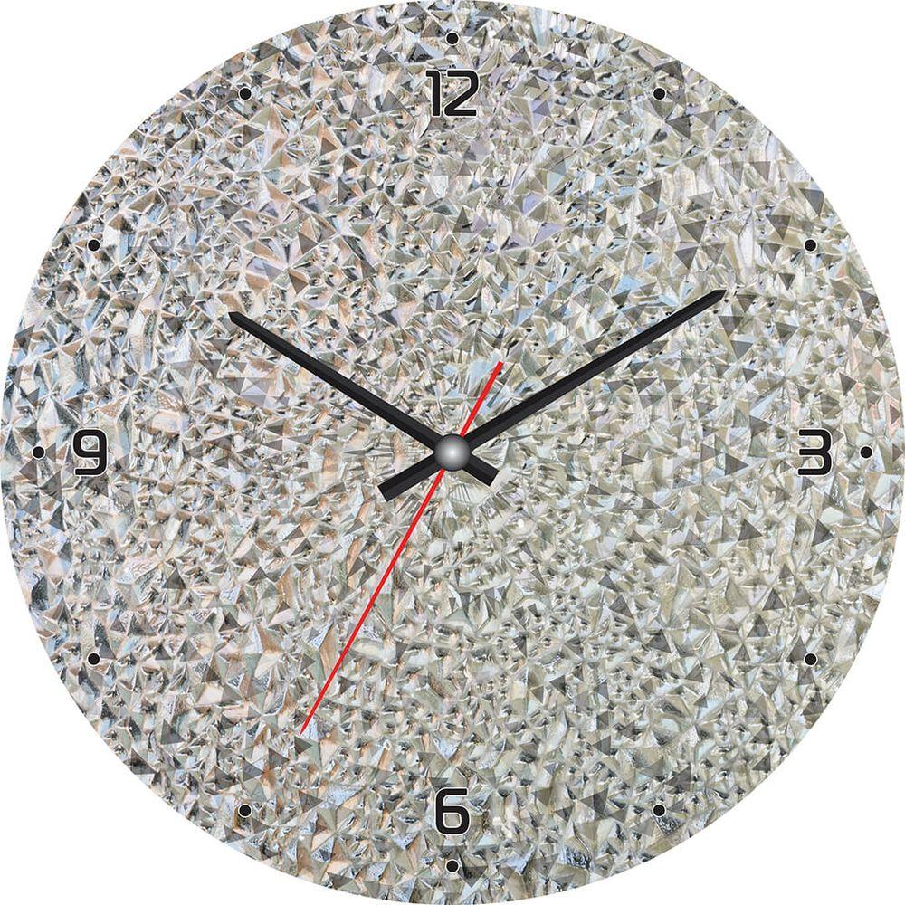 Часы настенные Postermarket, цвет: серый, диаметр 30 см. CL-21CL-21Стильные настенные часы Postermarket станут изюминкой в дизайне интерьера вашего дома. Корпус часов выполнен из стекла с декоративным покрытием. Часы имеют три стрелки - часовую, минутную и секундную. Часовой механизм сзади закрыт пластиковым корпусом. Кварцевые часы работают от сменной батареи.Диаметр: 30 см.
