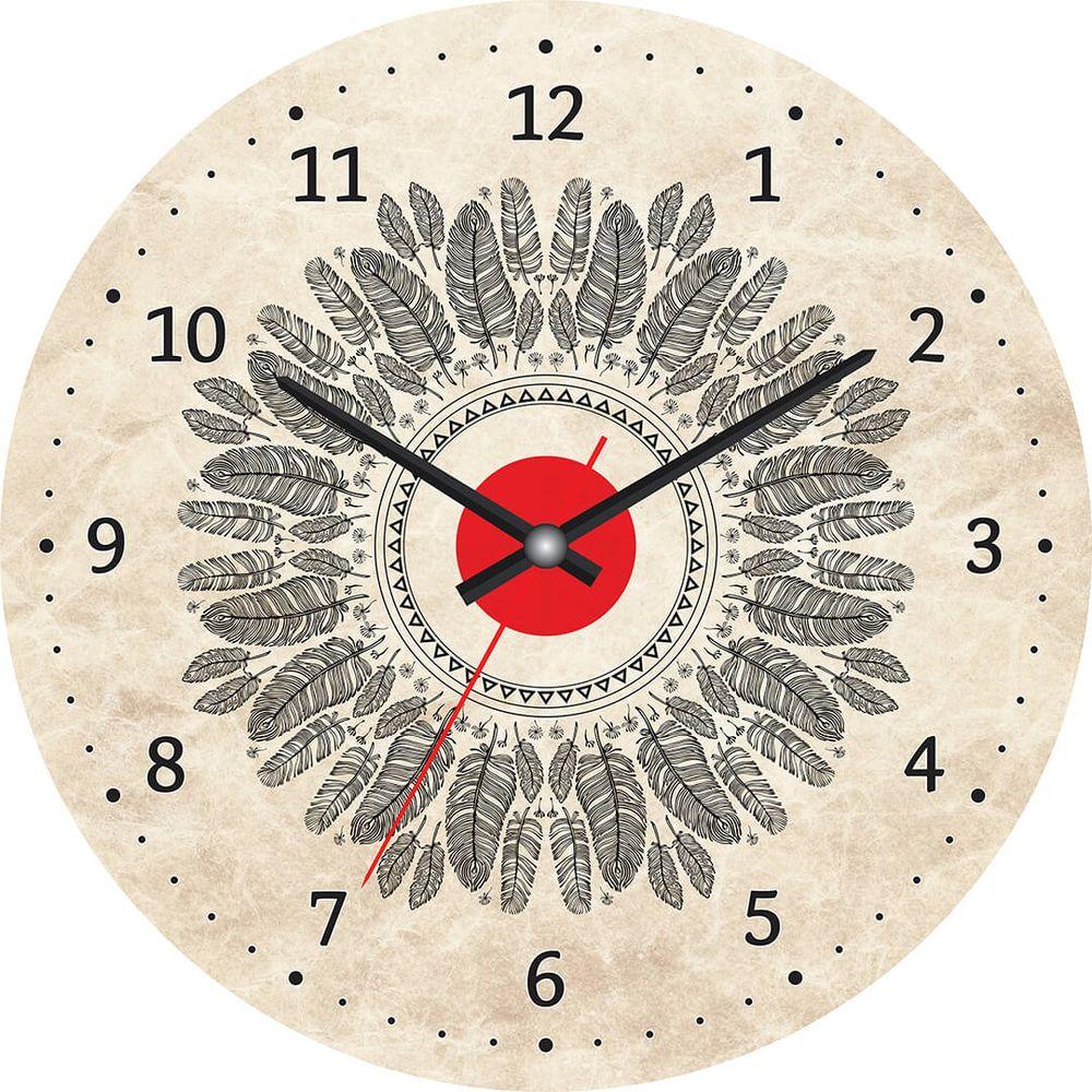 Часы настенные Postermarket, цвет: серый, диаметр 30 см. CL-23CL-23Стильные настенные часы Postermarket станут изюминкой в дизайне интерьера вашего дома. Корпус часов выполнен из стекла с декоративным покрытием. Часы имеют три стрелки - часовую, минутную и секундную. Часовой механизм сзади закрыт пластиковым корпусом. Кварцевые часы работают от сменной батареи.Диаметр: 30 см.