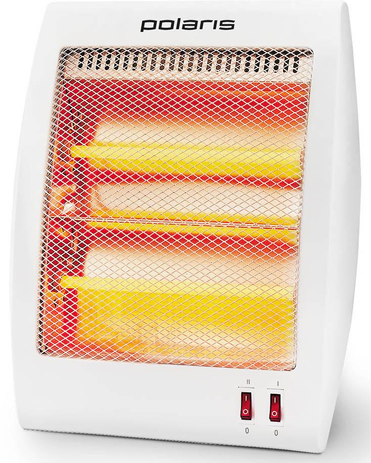 Polaris PQSH 0208 кварцевый обогреватель008696Обогреватель Polaris PQSH 0208 оснащен кварцевым нагревательным элементом. Он обеспечивает высокую эффективность обогрева, не сжигает кислород и не сушит воздух. Polaris PQSH 0208 обладает высокой надежностью и безопасностью использования: при опрокидывании или перегреве устройство автоматически отключается, предотвращая возможное возгорание.