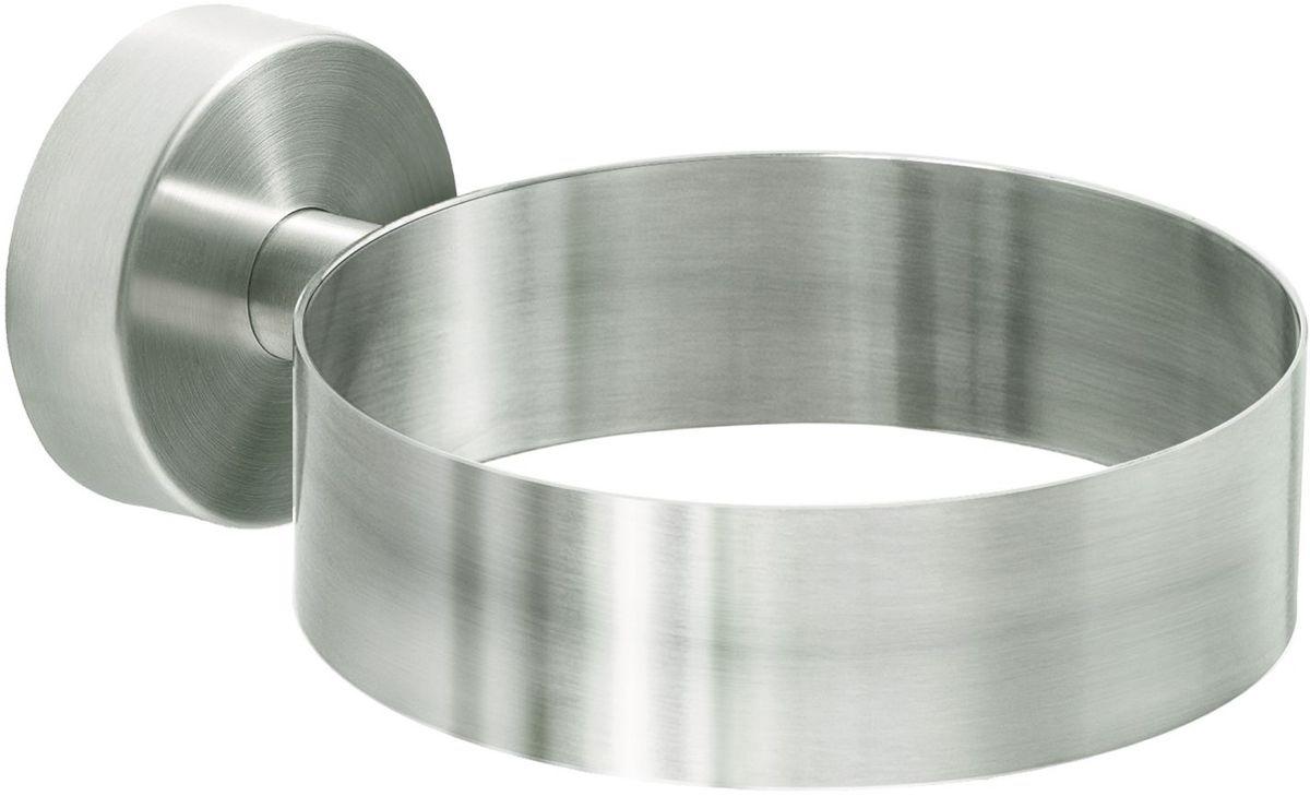 Держатель для фена Wonder Worker Warm, цвет: серый металлик80111Держатель для фена Wonder Worker Warm выполнен из матовой нержавеющей стали. Он крепится на шурупы или на клей.
