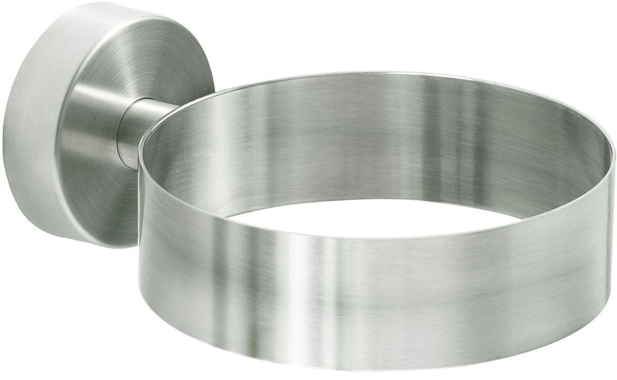 Держатель для фена Wonder Worker Warm, цвет: серый металлик держатель для туалетной бумаги wonder worker hold цвет серый металлик 15 5 x 13 5 x 5 4 см