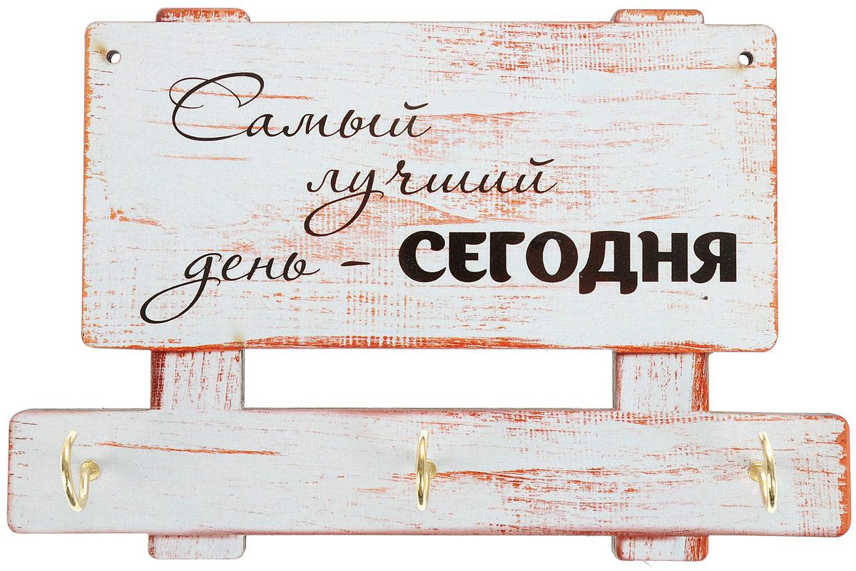 Ключница настенная Феодора Табличка. КЛЧ-010КЛЧ-010Подвесная ключница с изоброжением.