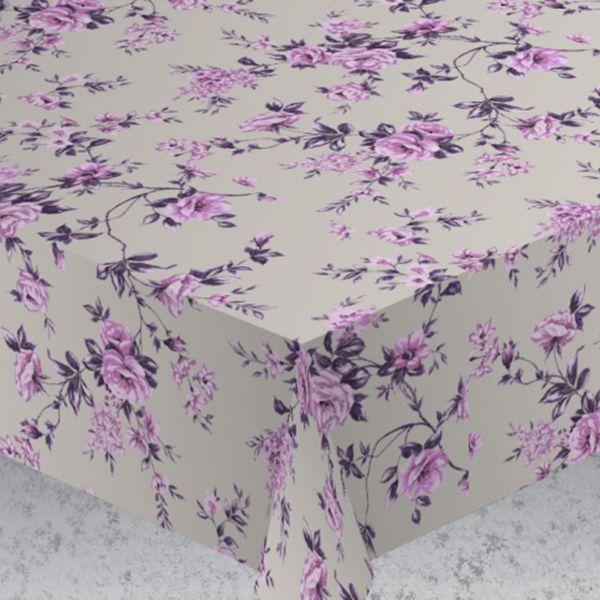 Скатерть Protec Textil Alba. Вальс цветов, цвет: фиолетовый, белый, диаметр 160 см6123Эксклюзивная и стильная скатерть коллекции Alba в индивидуальной упаковке. Скатерть состоит на 80% из хлопка и на 20% из полиэстера. Специальная обработка придает ткани термостойкость и влагоустойчивость. Технология производства изделий отвечает новейшим европейским стандартам. Полотна отличаются высочайшими качественными характеристиками: высокими показателями износостойкости, цветостойкости и цветопередачи, прочности ткани на разрыв, низкими показателями истираемости полотна при мнокократном использовании изделия. Скатерть обладает высокой плотностью, не скользит и не перемещается на поверхности стола, легко протирается влажной тканью, возможна деликатная стирка при температуре не выше 30 градусов. Коллекция скатертей Alba - это тренд современной хозяйки, которая предпочитает стиль и качество в сочетании с практичностью.