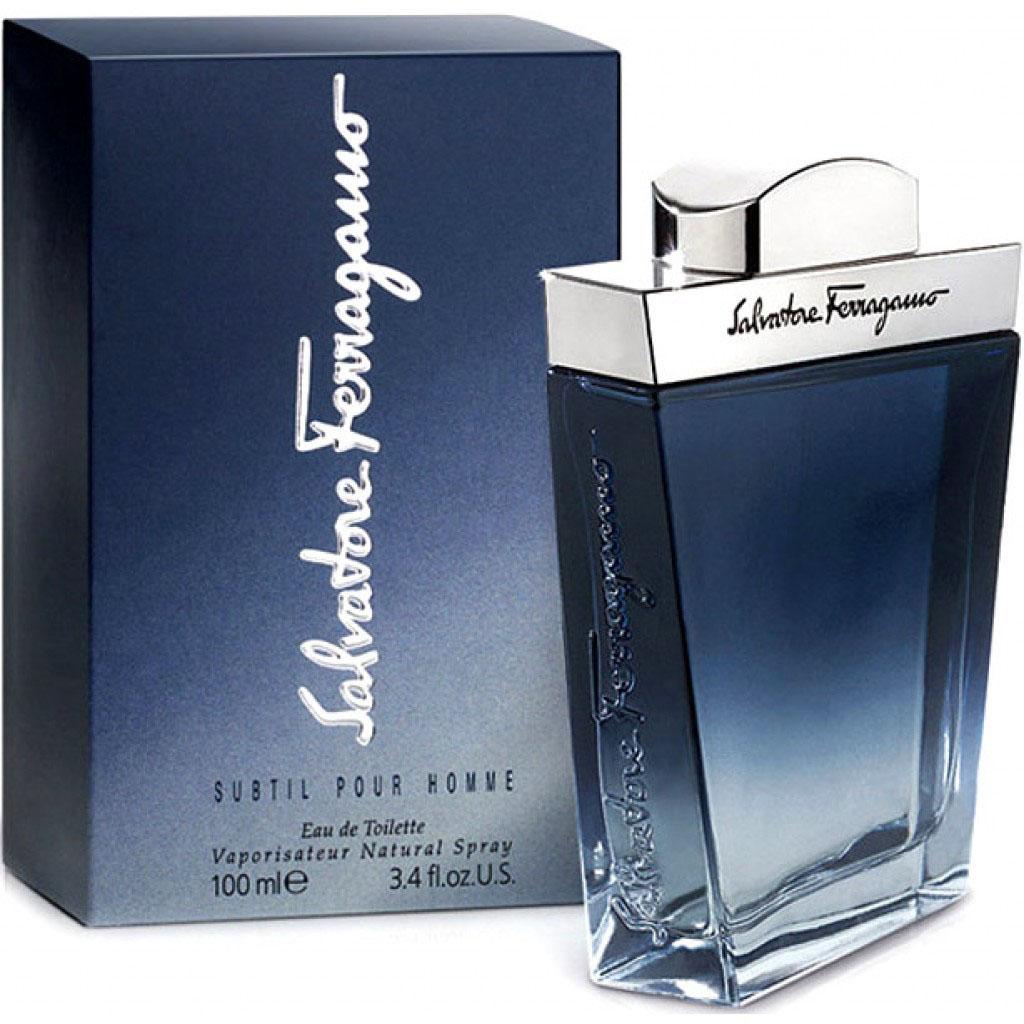 цена на Salvatore Ferragamo Subtil Pour Homme Туалетная вода мужская, 100 мл
