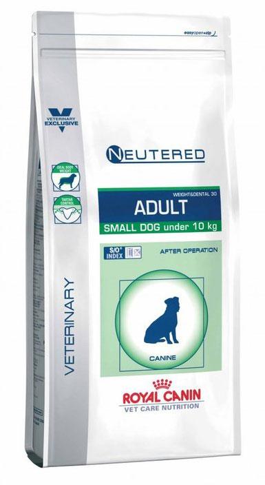 Корм сухой Royal Canin Neutered Adult X-Small Dog, для кастрированных собак мелких размеров, 3,5 кг33689Сухой корм для кастрированных собак мелких размеров. Состав: ячмень, кукуруза, дегидратированные белки животного происхождения (свинина), дегидратированные белки животного происхождения (птица), пшеничная мука, растительная клетчатка, пшеничная клейковина*, гидролизат белков животного происхождения, животные жиры, минеральные вещества, экстракт цикория, соевое масло, рыбий жир, оболочка и семена подорожника, фруктоолигосахариды, экстракт бархатцев прямостоячих (источник лютеина). Питательные добавки: витамин A: 24900 ME, витамин D3: 800 ME, железо: 41 мг, йод: 2,8 мг, марганец: 54 мг, цинк: 203 мг, сeлeн: 0,1 мг - технологические добавки: триполифосфат натрия: 3,5 г -консервант: сорбат калия - антиокислители: пропилгаллат, БГА. Товар сертифицирован.Уважаемые клиенты! Обращаем ваше внимание на то, что упаковка может иметь несколько видов дизайна. Поставка осуществляется в зависимости от наличия на складе.