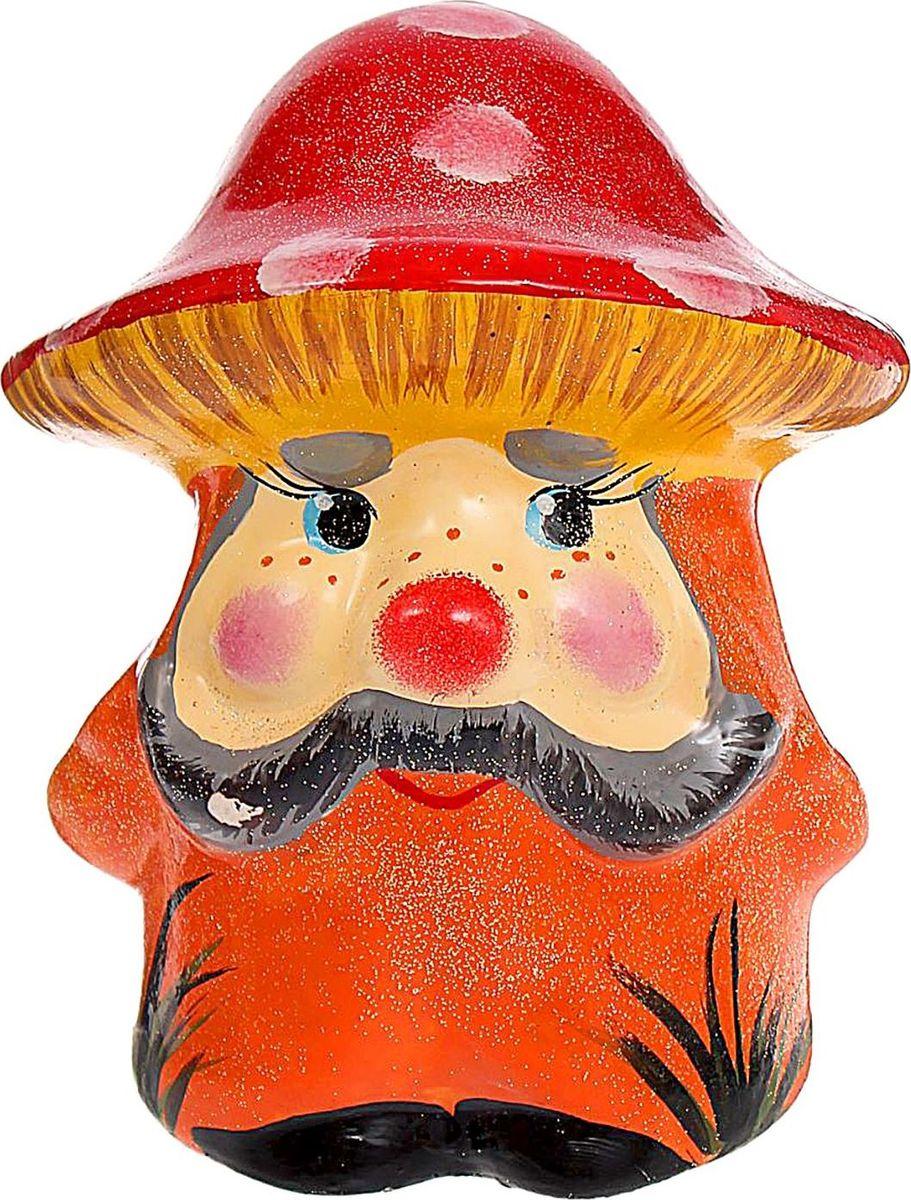 Копилка Керамика ручной работы Мухомор, 14 х 14 х 18 см1417944Поставьте копилку в форме гриба на кухне или в прихожей, ведь этот лесной житель является символом долголетия. Откладывая в неё деньги на покупку приятных мелочей, вы точно будете знать, что однажды она вас выручит.Обращаем ваше внимание, что копилка является одноразовой.